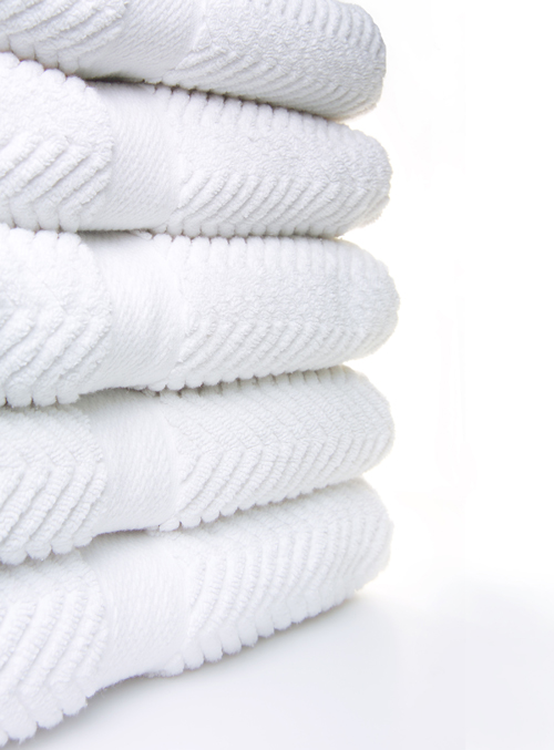 Clean Towel Stack