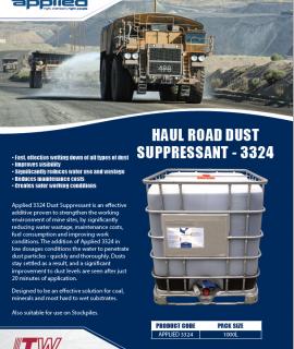 Applied Brand - Haul Road Dust Suppressant