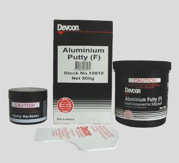 Aluminium Putty (F) – Repair and rebuilding of aluminium parts and equipment