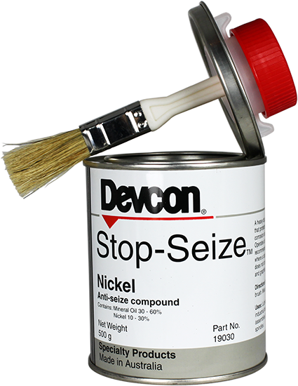 Stop Seize Nickel – a heavy duty, high temperature water repelling compound