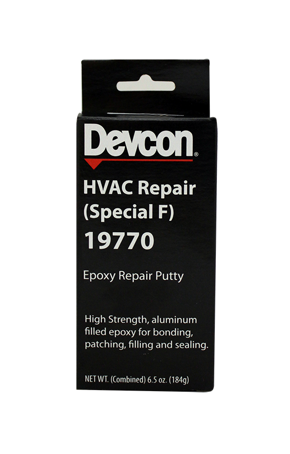 HVAC Repair (Special F) 19770 – Bonds to Aluminium and Other Metals, Ceramics, Wood and Concrete