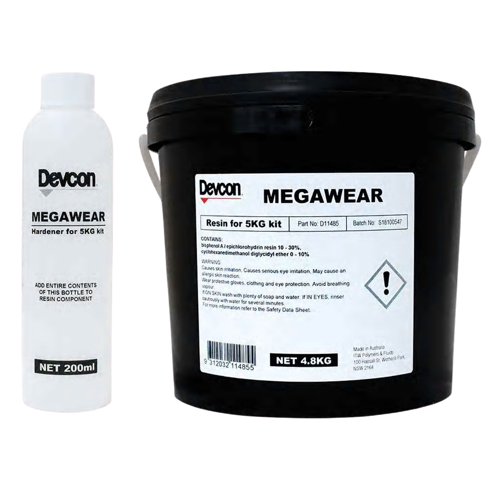 Megawear – Fast and User-Friendly Epoxy System