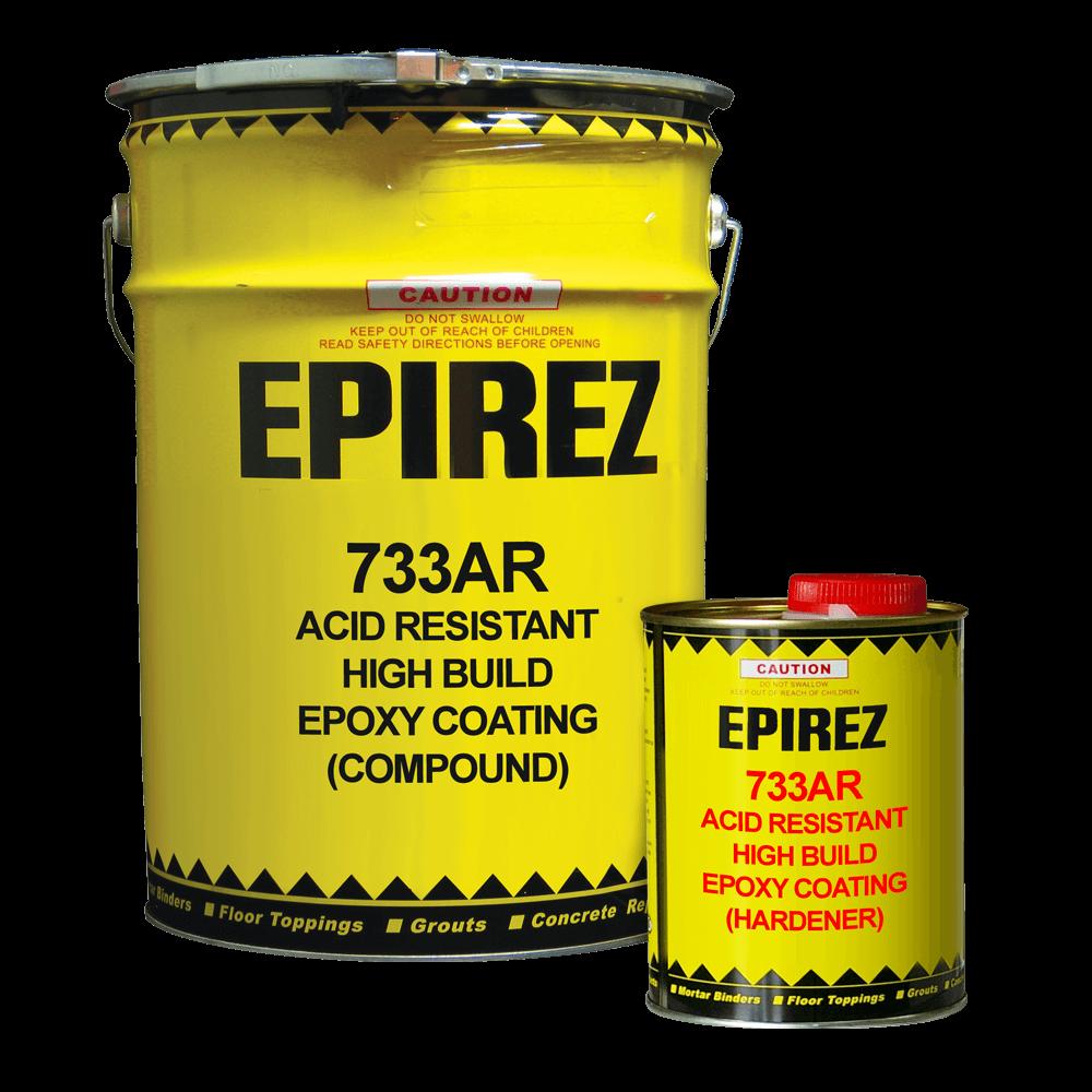 Acid Resistant High Build Epoxy Coating (733AR)