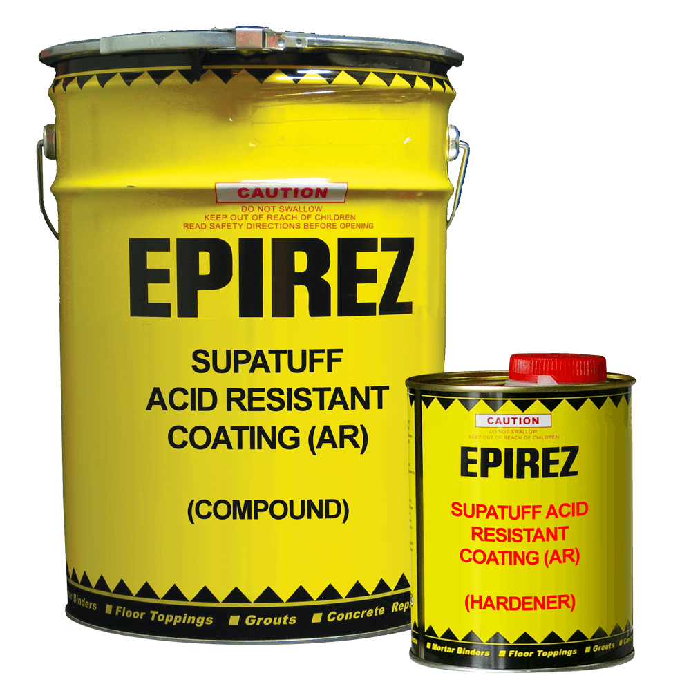Supatuff Acid Resistant Coating (AR) – Broad chemical resistance