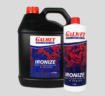 Galmet® Ironize – No residue to wash off before recoating