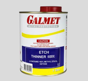 Galmet® Etch Thinner 500E – High quality residue free solvent