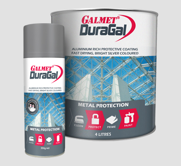 Galmet® DuraGal® – Long term protection of steel