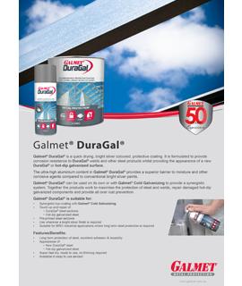 Galmet DuraGal Product Flyer