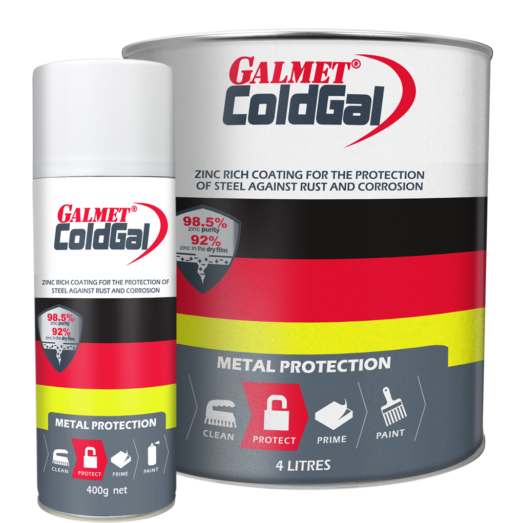 Galmet® ColdGal – Long term protection of steel