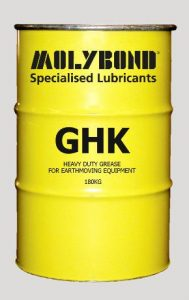 GHK heavy duty, water repellant lithium based grease
