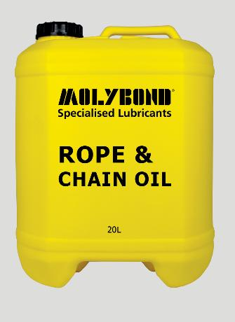 Rope & Chain Oil –  A premium quality ISO150 viscosity grade mineral oil