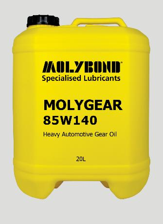 Molygear 85W140 –  A long life thermally stable automotive transmission