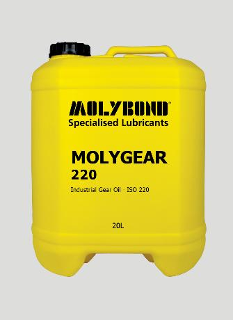 Molygear 220 – long life industrial gear oil containing molybdenum disulphide
