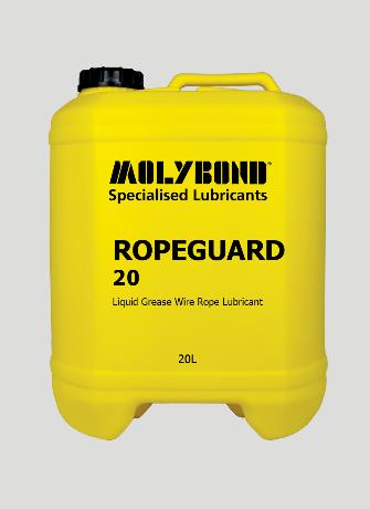 Ropeguard 20 – Excellent adhesive properties