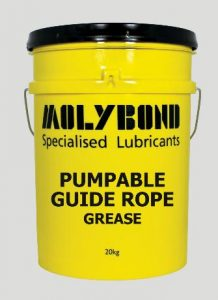 Pumpable Guide Rope Grease