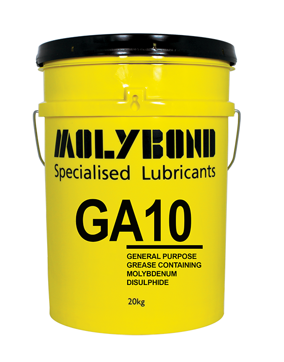 GA10 – An extreme pressure lithium hydroxy stearate grease