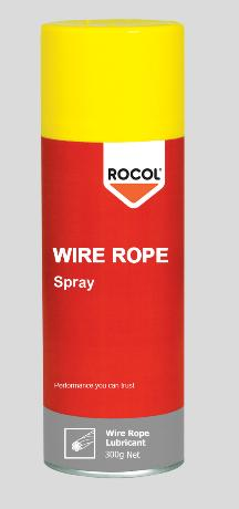 Wire Rope Spray – Rapidly penetrates wire ropes