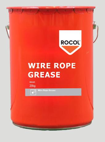 Wire Rope Grease – Provides high load carrying capacity