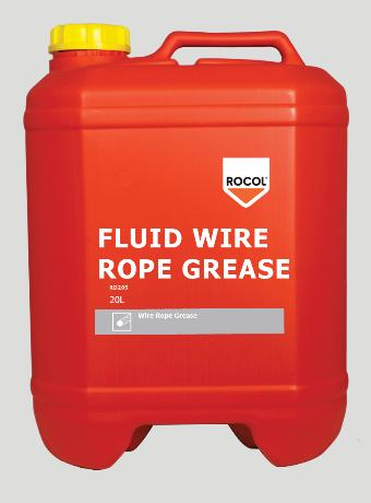 Fluid Wire Rope Grease – Provides excellent anti-wear properties