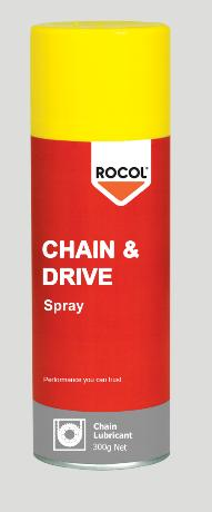 Chain & Drive Spray – Fast penetration to the pins and bushes