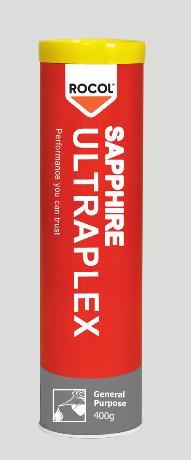 Sapphire Ultraplex – A high performance, multi-purpose, lithium complex bearing grease