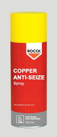 Copper Anti-Seize Spray – Lead free – Excellent water resistance