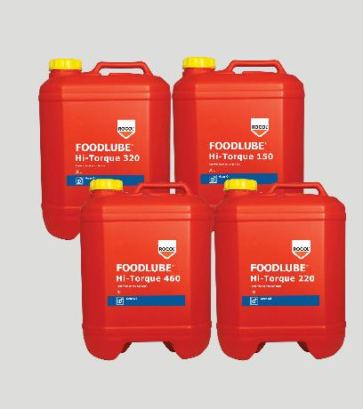 FOODLUBE Hi-Torque Gear Oils – A range of fully synthetic gearbox fluids