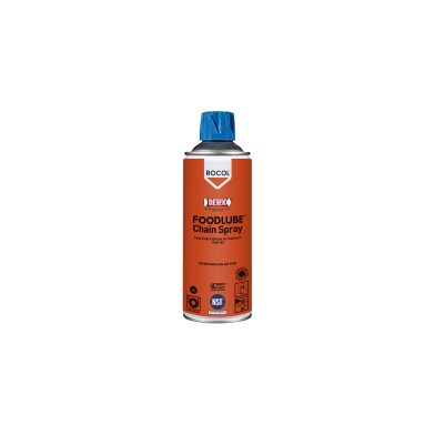 FOODLUBE Chain Spray – non-toxic, water resistant lubricating aerosol