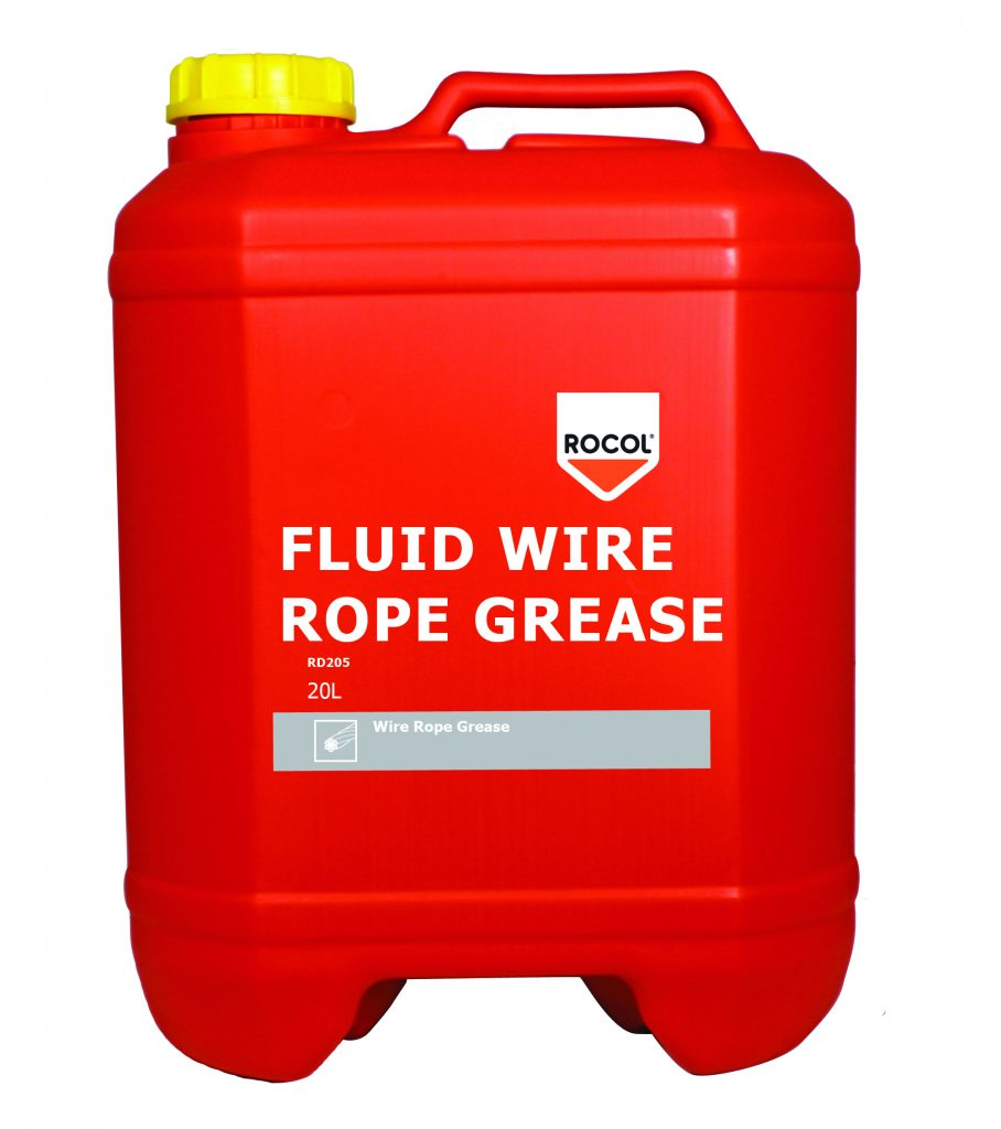 Fluid Wire Rope Grease - Rocol