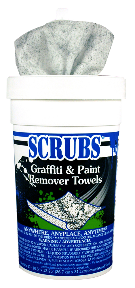 Graffiti & Spraypaint Remover Towels